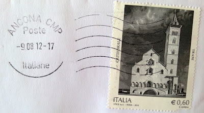 La cattedrale di Trani francobollo