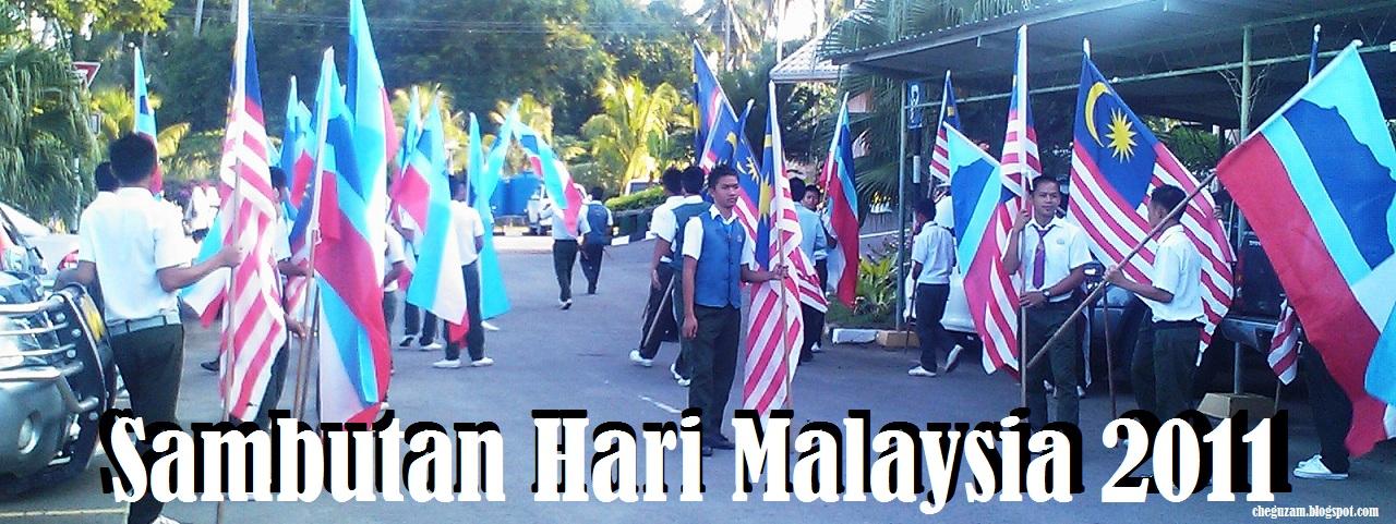 Sambutan Hari Malaysia 2011, SMK Pinggan-Pinggan, Pitas, Sabah