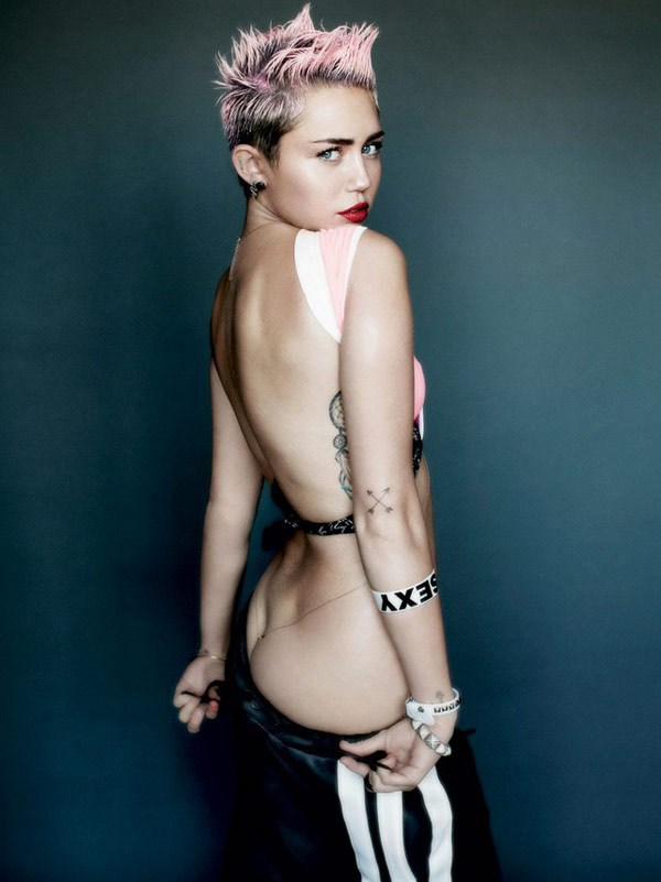 Miley Cyrus (Courtesy of V Magazine)