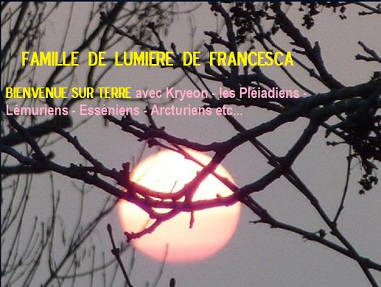 FAMILLE DE LUMIERE DE FRANCESCA