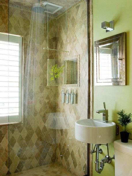 Azulejos Baño Verdes:Color VERDE para el Cuarto de Baño