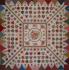 Ayer&#39;s House Dancing Dollies Quilt