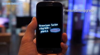 premium suite update for galaxy s3