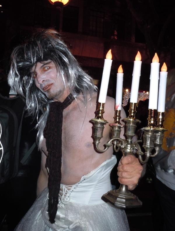 Demonic chandelier costume Weho Halloween Carnaval