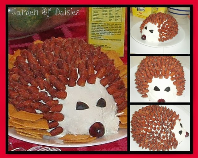 Hedgehog Cheese Ball