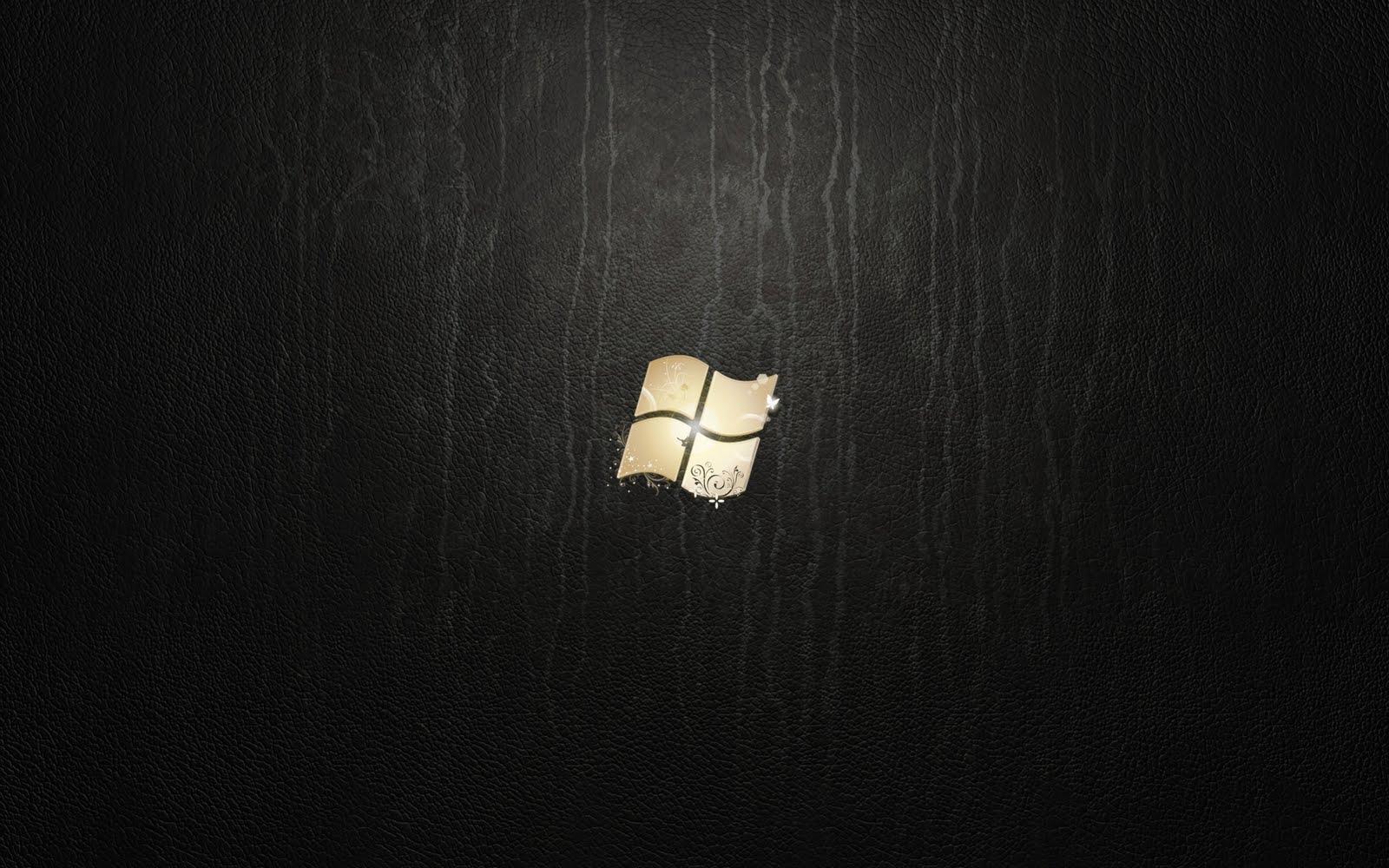 Windows 7 Black HD Desktop