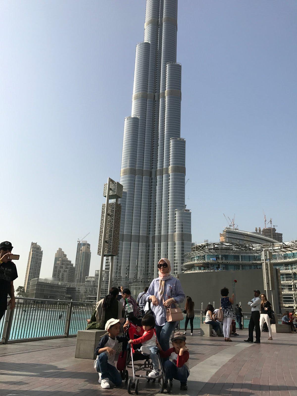 DUBAI UAE~Burj Khalifa~Nov'16