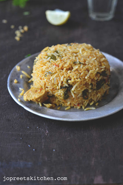 Ambur Chicken Biriyani - South Indian Special Biriyani Recipe