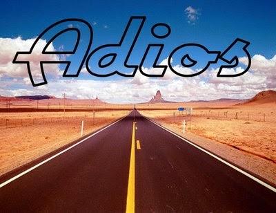 Frases de Despedida, Adios, parte 2