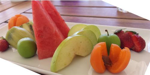 Sommer Früchte Melone Erdbeere Atelierladen Blog