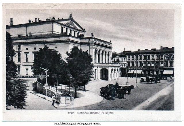 Vechea cladire a Teatrului National