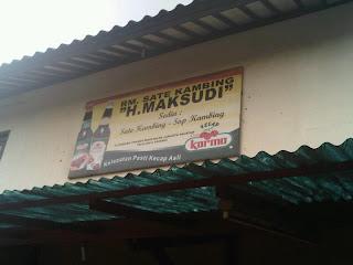 Info Kuliner | Jakarta | Warung Sate Haji Maksudi