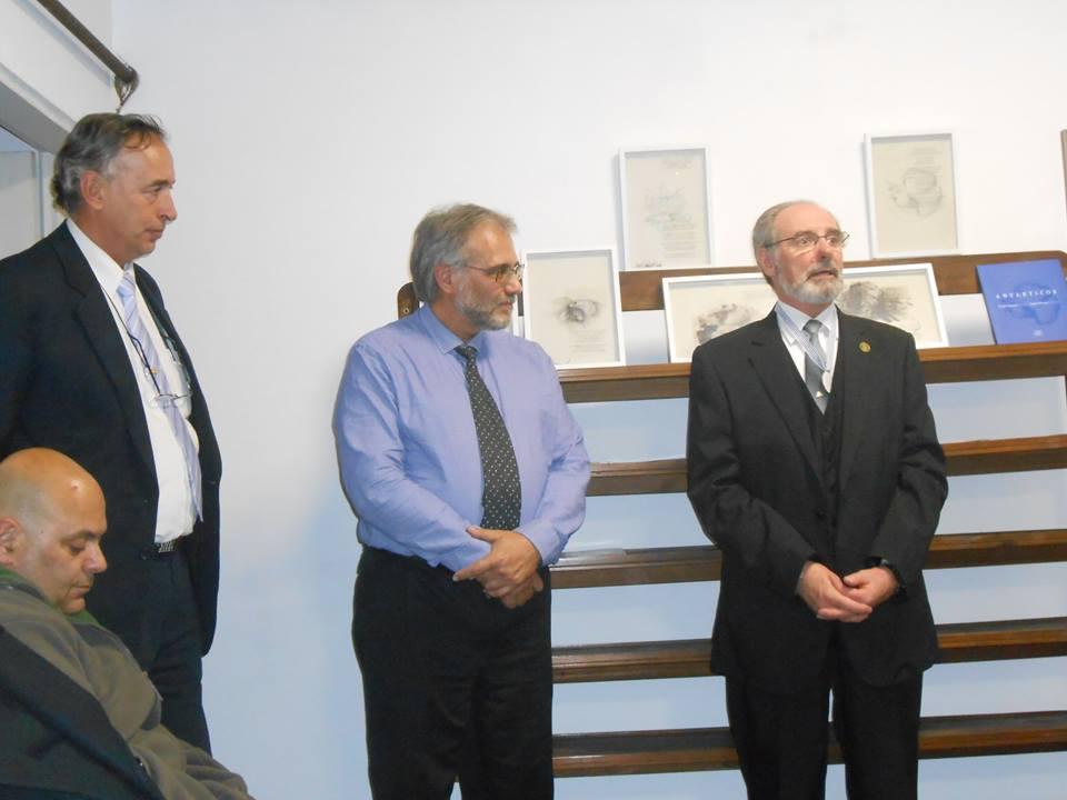 La Asociación Civil Antarkos hace entrega de la Medalla a la Trayectoria Antártica - 21-10-2015