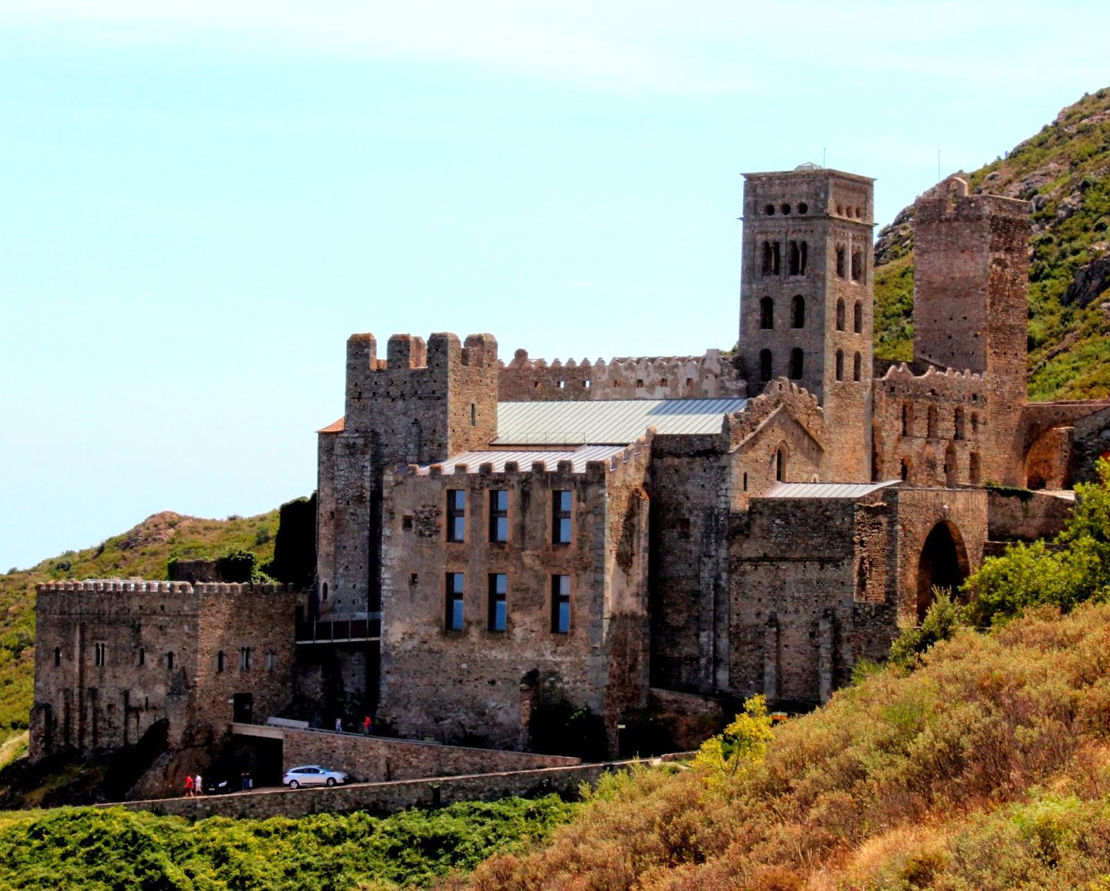 Monasterio-fortaleza de San Pere de Rodas-Gerona