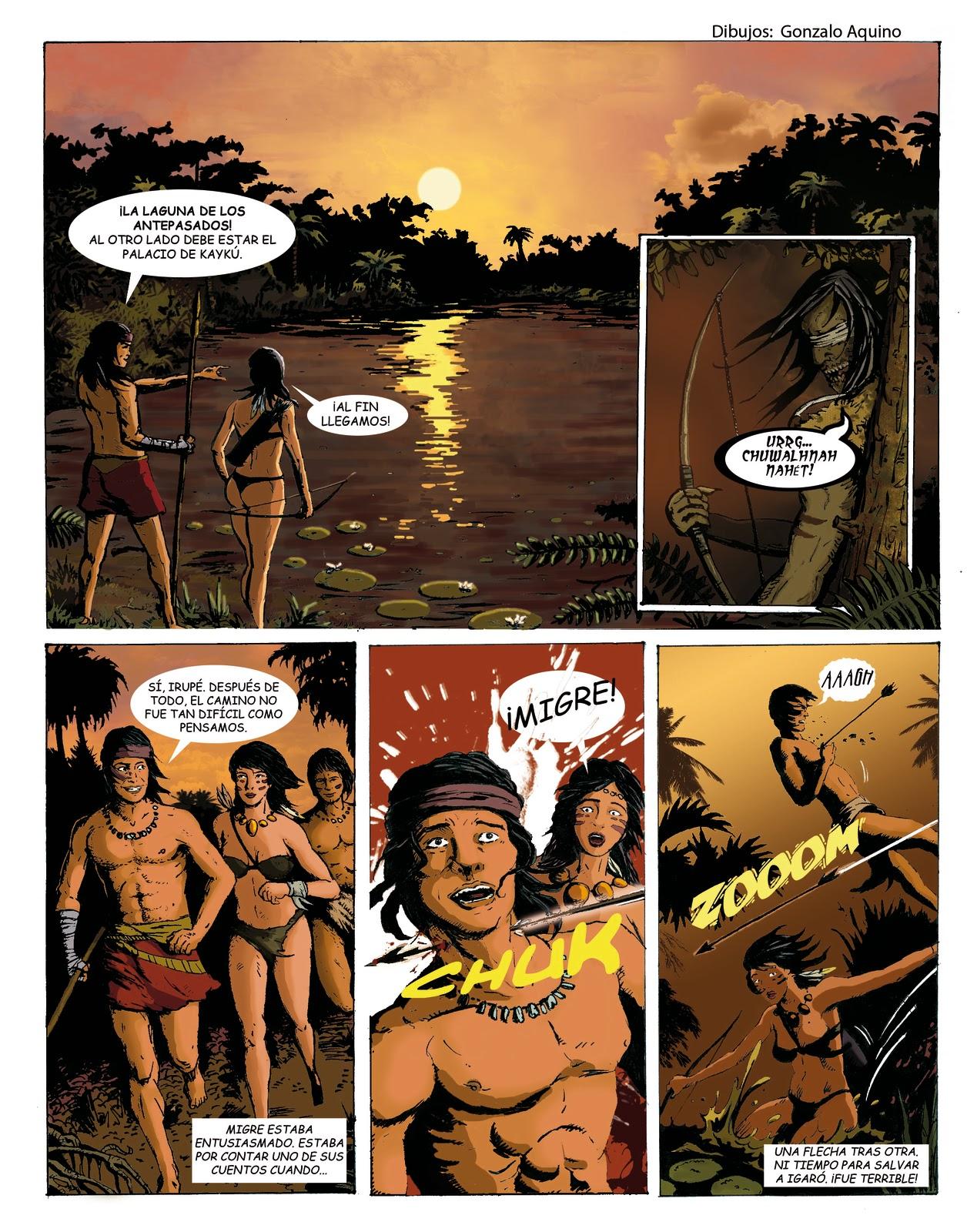 Historieta de Fantasía Indígena