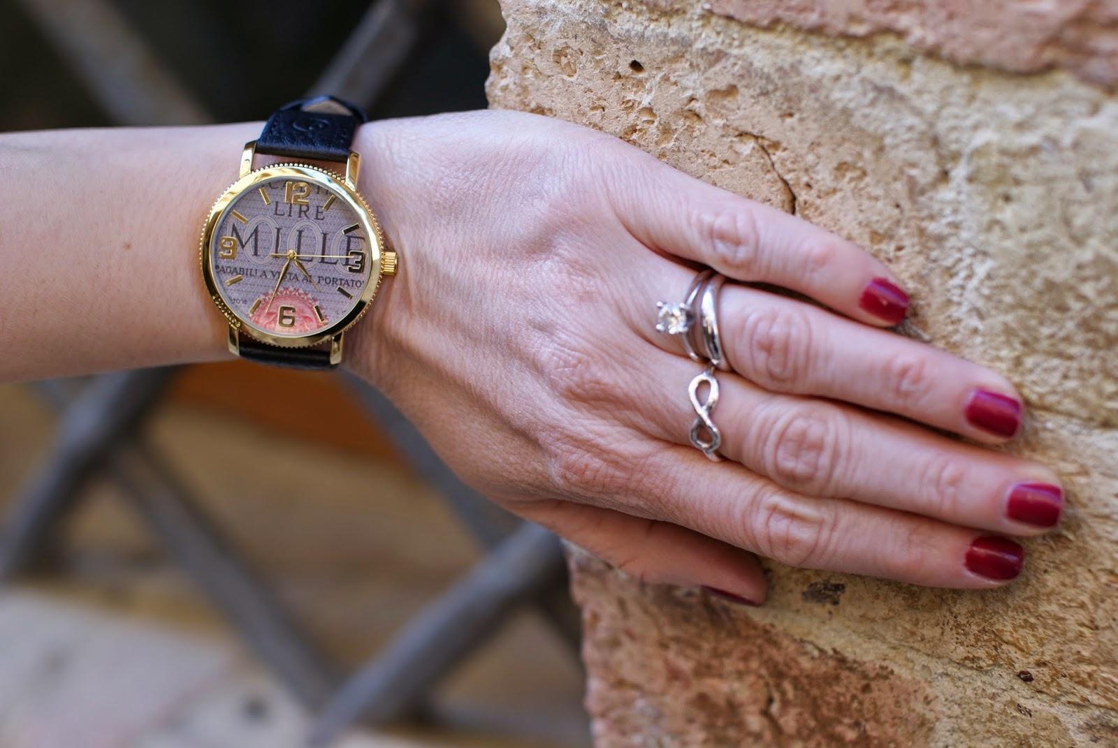 Chanel coup de coeur nail polish, Millelire Giuseppe Verdi orologio, Spadarella infinity ring, Fashion and Cookies, fashion blogger