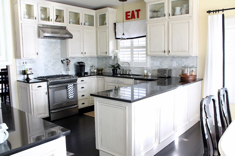 Here's some white kitchens that I love. title=