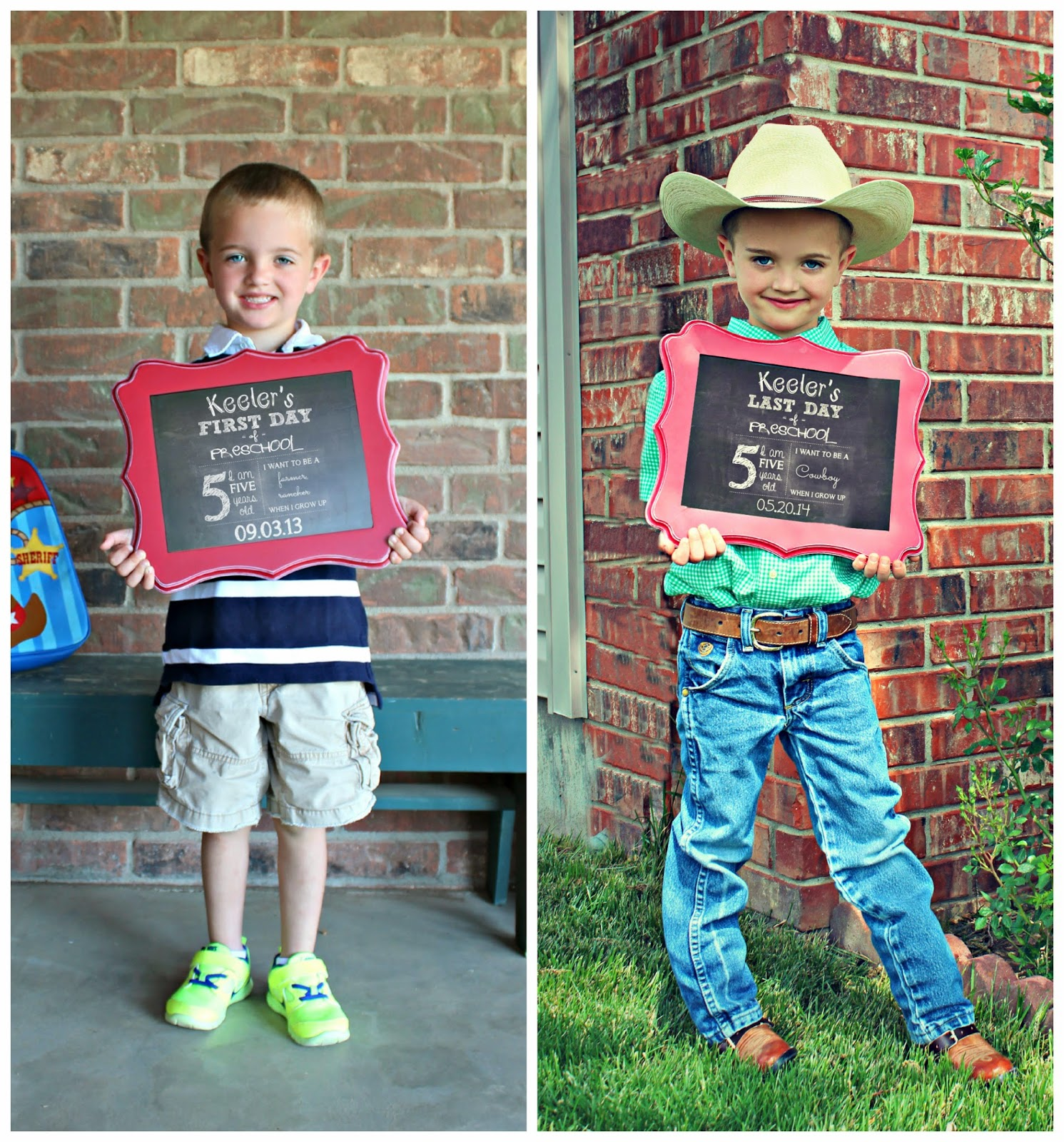 3 cowboys and a mommy: keeler's preschool graduation