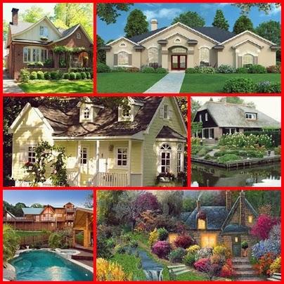 bu evlerden birinde yasamak isterim