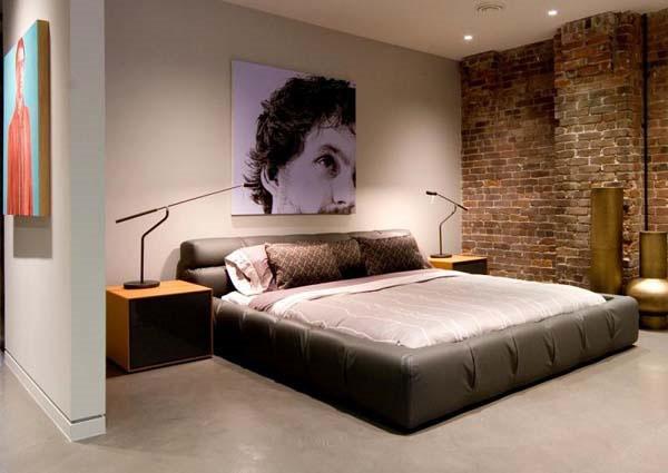 deco chambre interieur conceptions des murs en brique pour chambre coucher. Black Bedroom Furniture Sets. Home Design Ideas