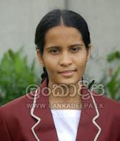 Methsarani Lokuge of Devi Balika Vidyalaya Colombo