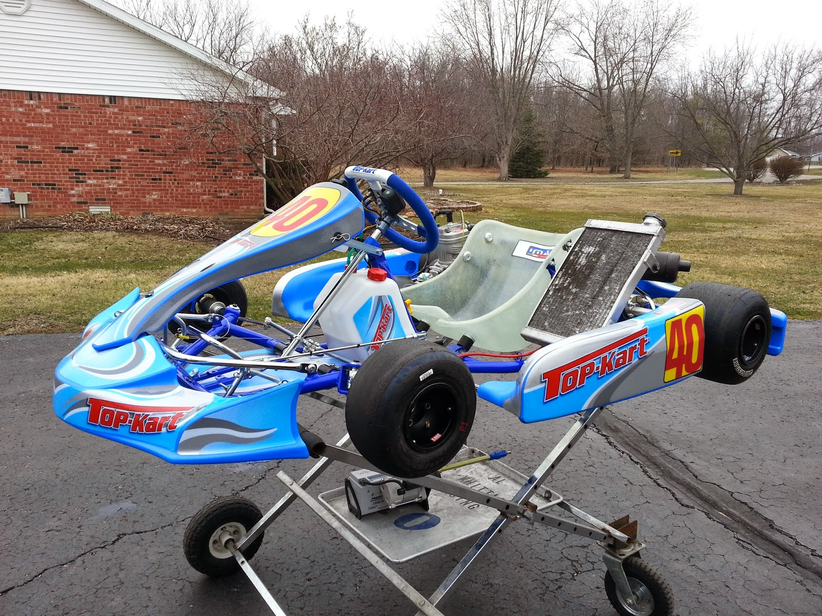2015 Top Kart Typhoon Chassis