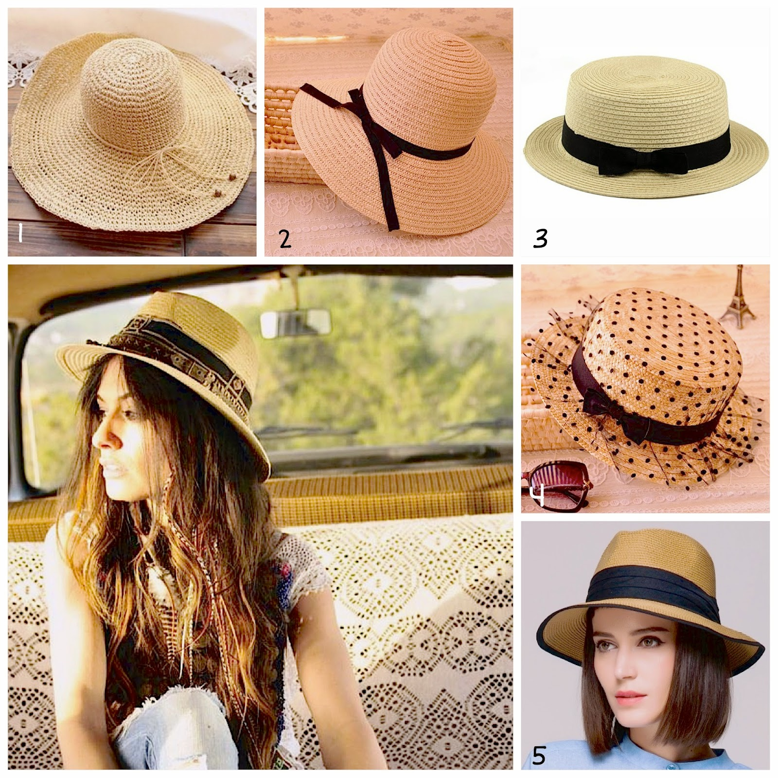 onde comprar chapéu de palha