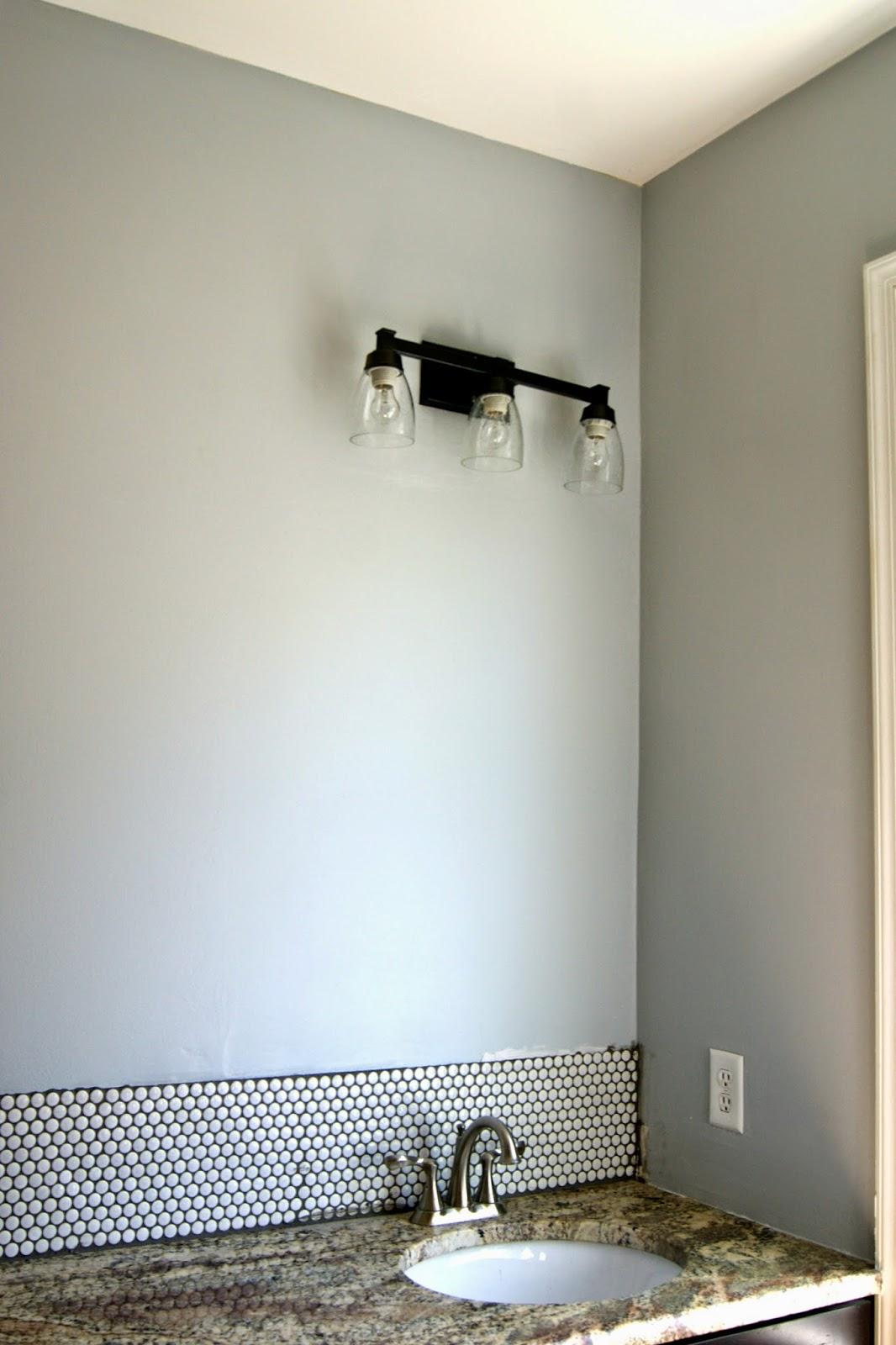Penny tile bathroom backsplash ellis page - Penny tile backsplash images ...