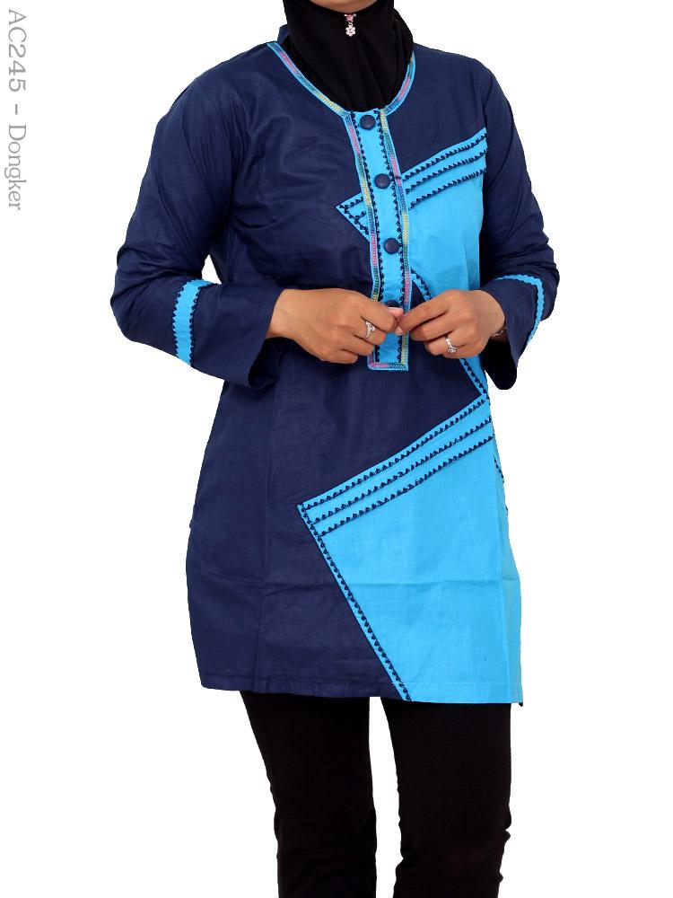 Blus Cantik Muslimah Ac245 Busana Muslim Murah Terbaru