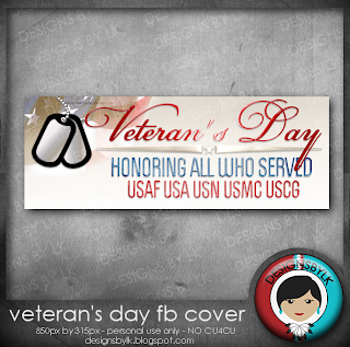 FB Cover Freebie :: Veteran