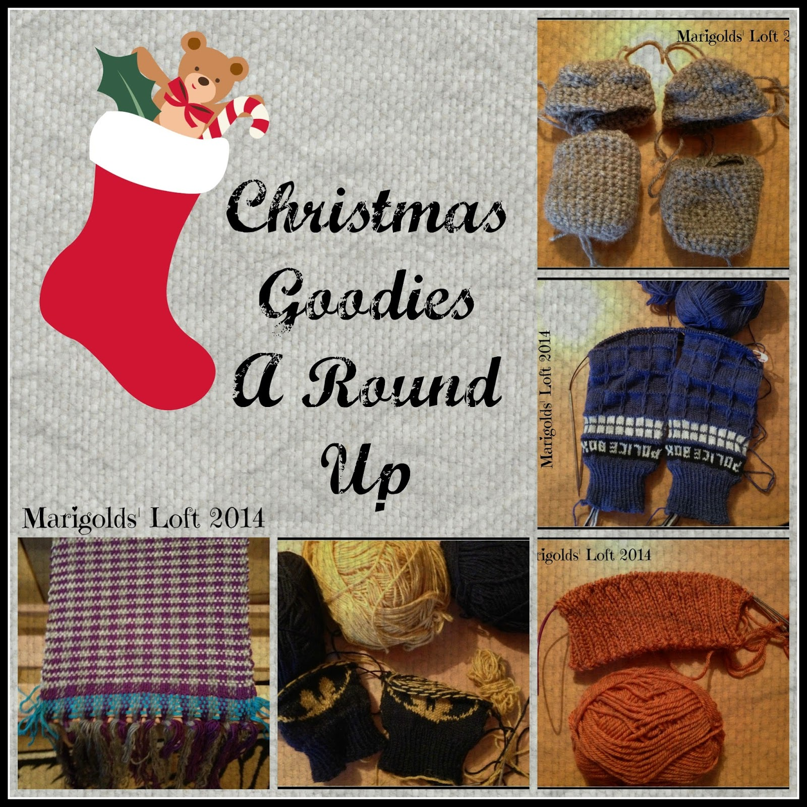A Round Up of Handmade Christmas Goodies
