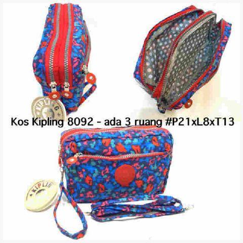 Kipling Pouch   cosmetic case kw super kode  8092M. Harga Rp65 Dompet  Kipling ... 9d96fca3bb