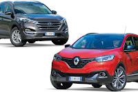 Renault Kadjar VS Hyundai Tucson