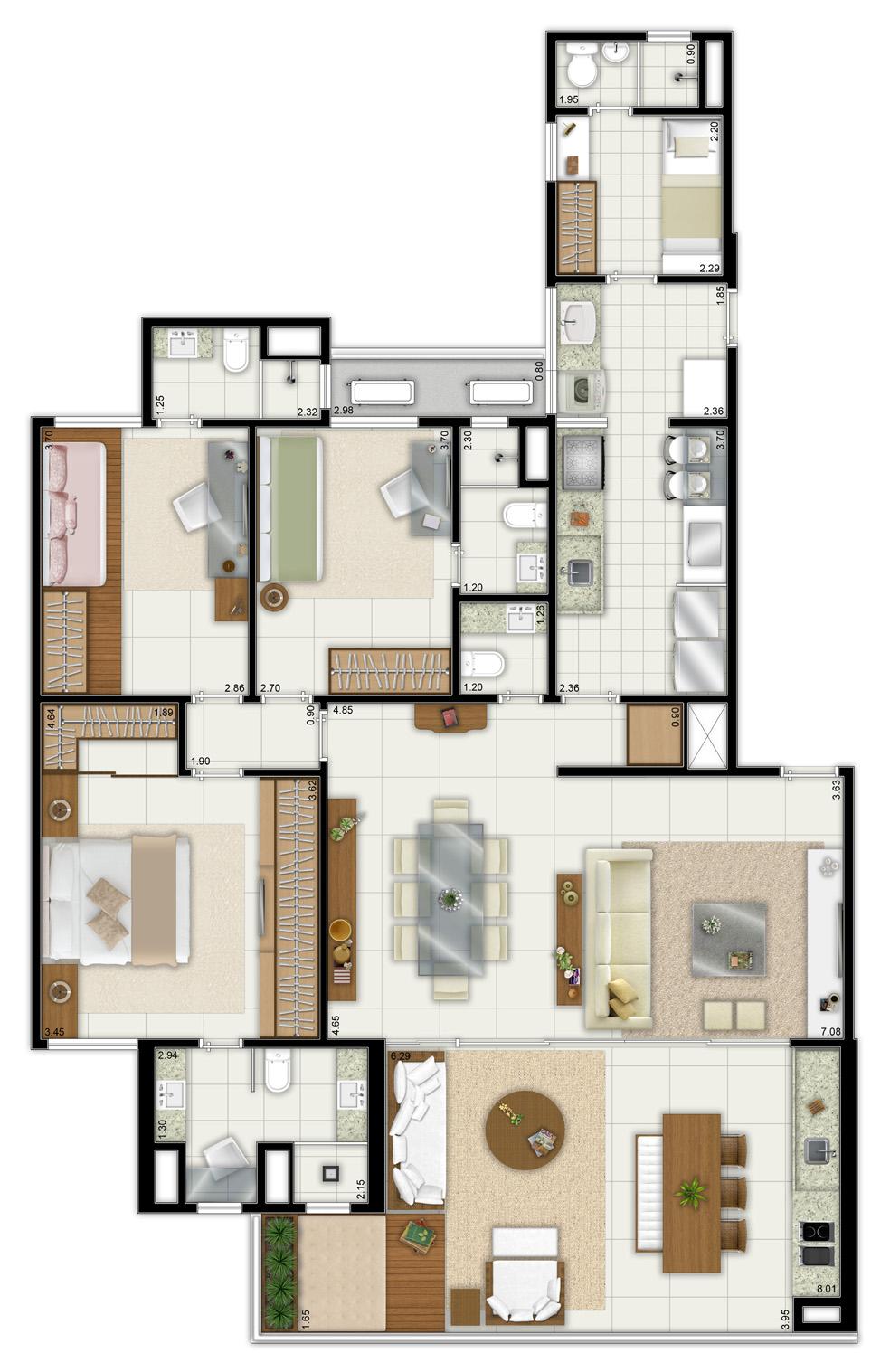 biarritz maison patamares - apartamento tipo