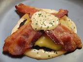 Bacon & Cheese Bun Less Burger