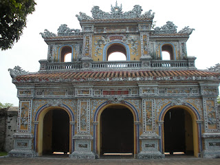 The city of Hue in Vietnam