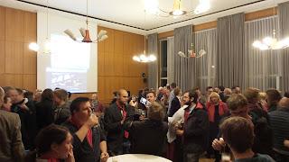 SPD Wahlfeier