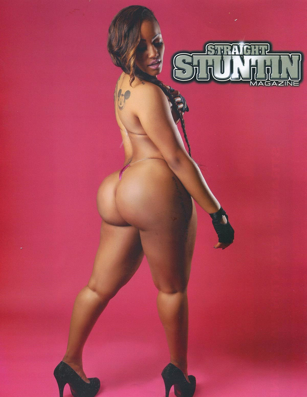 Jhonni Blaze Featured In Straight Stuntin Magazine Issue #32