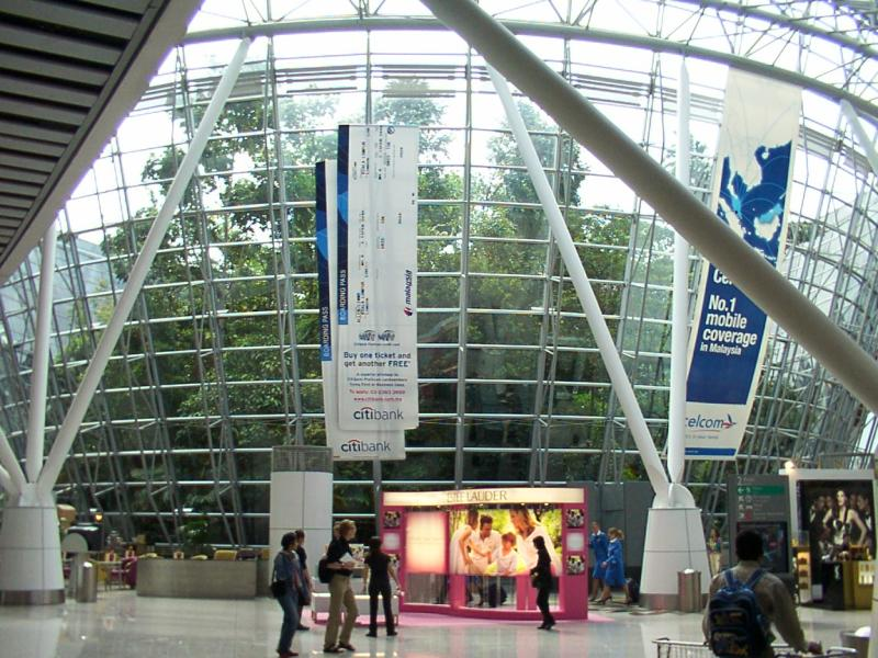 World Visits Kuala Lumpur Airport