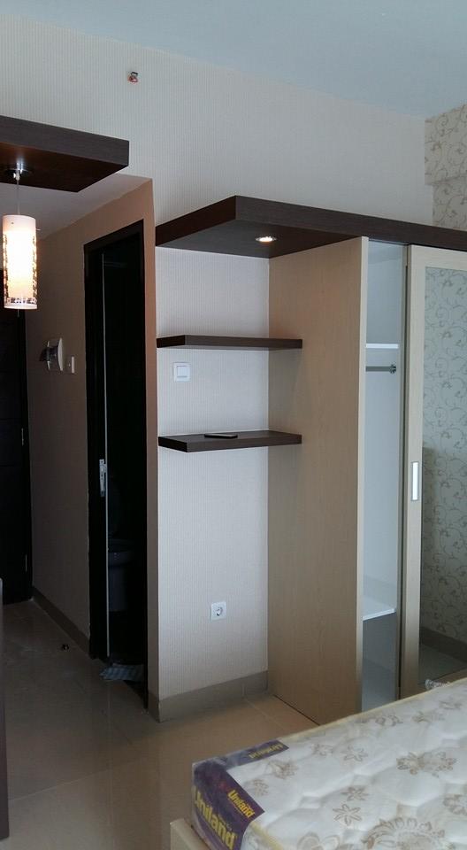 Desain interior type studio grand dhika bekasi infinity for Design apartemen 2 kamar tidur