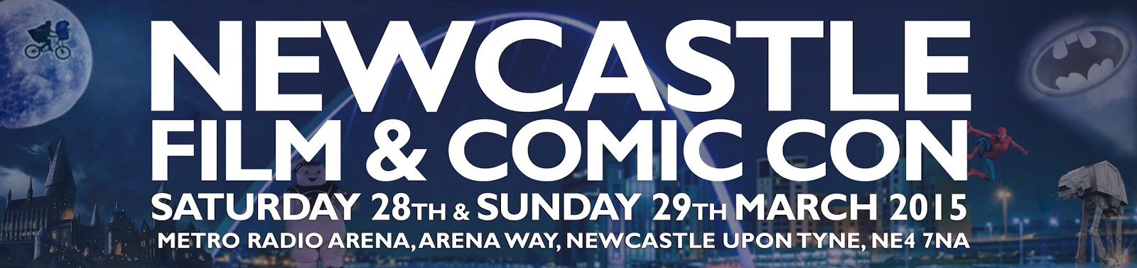 Events - Newcastle Film and Comic Con Review #NFCC