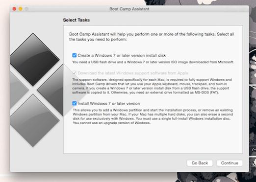 كيفية تثبيت ويندوز 10 على Mac