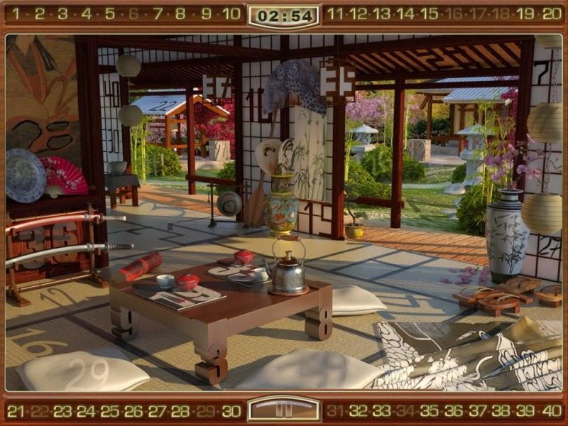 لعبة الارقام المخفية Mysteriez Hidden Numbers
