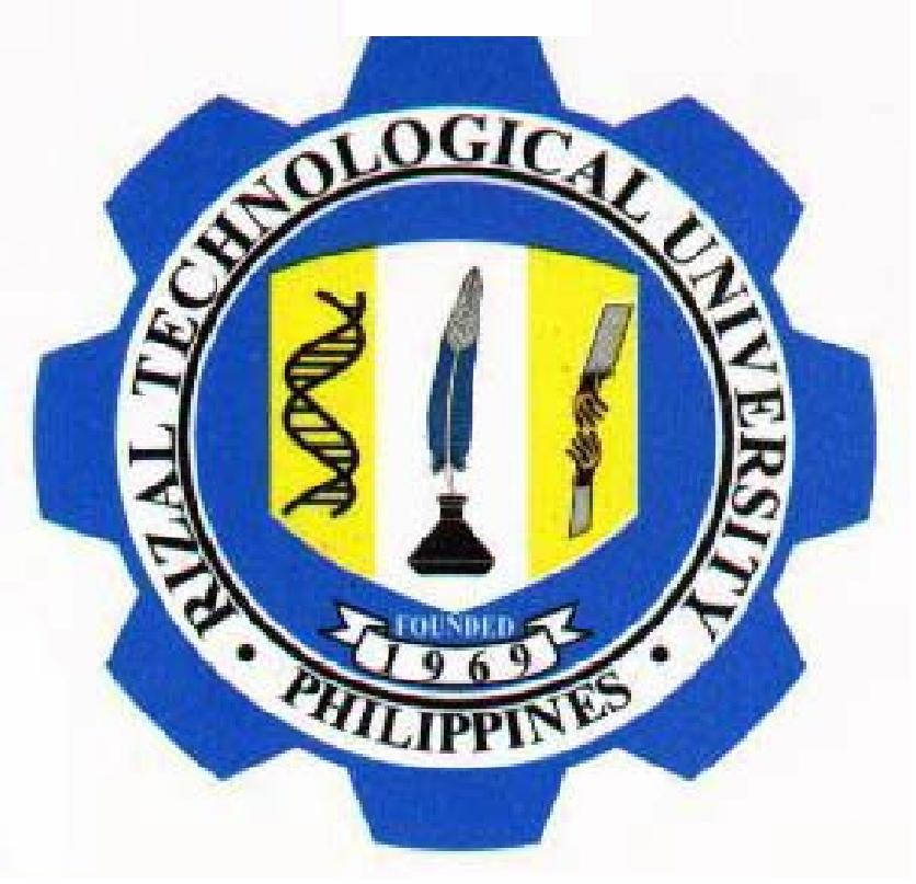 rizal technological university Rizal technological university, pasig m eusebio avenue, san miguel, pasig city roosevelt college system, cainta sumulong hiway, cainta rizal roosevelt college system, marikina.