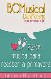 """Imagem do banner da BC Musical: """"Música para Receber a Primavera"""", do blog Moça de Família."""