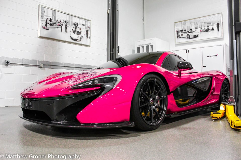 Laferrari In South Africa >> Rendering: Pink McLaren P1 - Hot or Not?