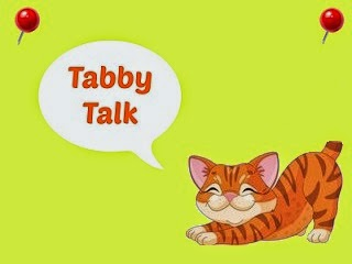 Tabby Talk button
