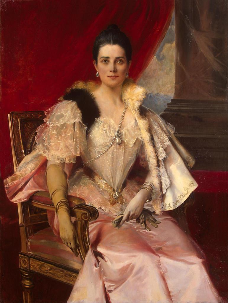 François Flameng portrait princesse