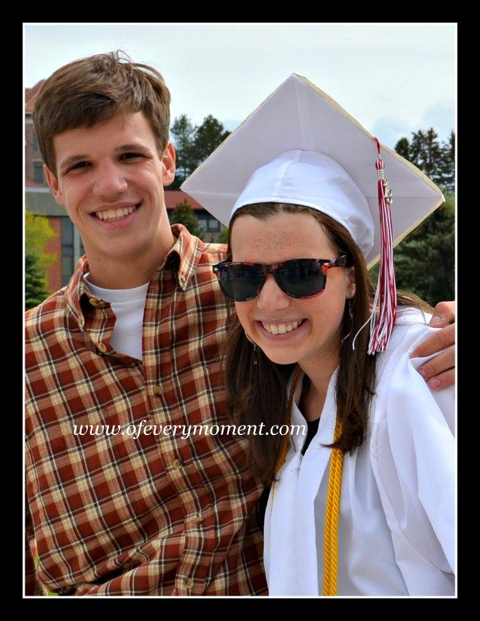 graduate, siblings