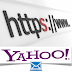 Yahoo Mail offers option HTTPS